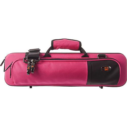 Protec Slimline Flute PRO PAC Case Hot Pink