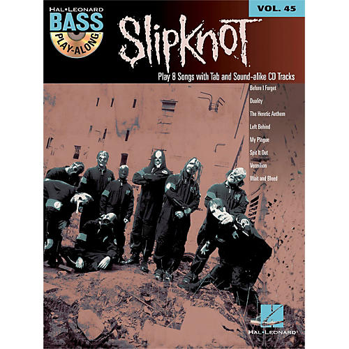 Hal Leonard Slipknot - Bass Play-Along Volume 45 Book/CD