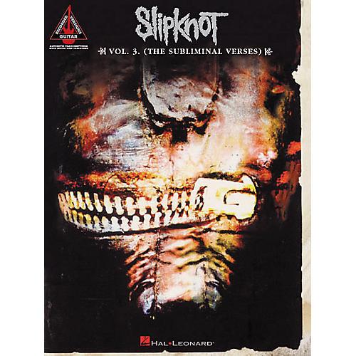 Hal Leonard Slipknot Volume 3 (The Subliminal Verses) Guitar Tab Songbook