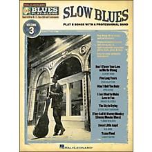 Hal Leonard Slow Blues - Blues Play-Along Volume 3 (Book/CD)