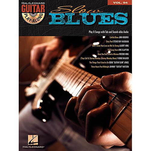 Hal Leonard Slow Blues - Guitar Play-Along Volume 94 (Book/Online Audio)
