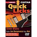 Licklibrary Slow Blues - Quick Licks (Style: Joe Bonamassa; Key: Am) Lick Library Series DVD Written by Danny Gill thumbnail