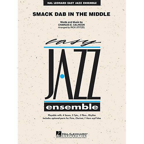 Hal Leonard Smack Dab in the Middle Jazz Band Level 2 Arranged by Rick Stitzel