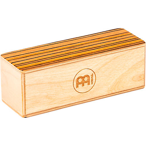 Meinl Small Baltic Birch Wood Shaker with Exotic Zebrano Top