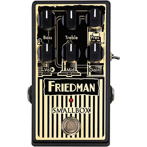 Friedman Smallbox Overdrive Effects Pedal Black