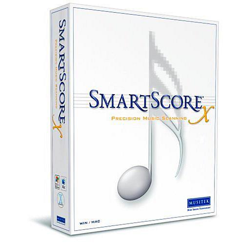 Musitek SmartScore X2 Pro Music Scanning Software 5-Pack