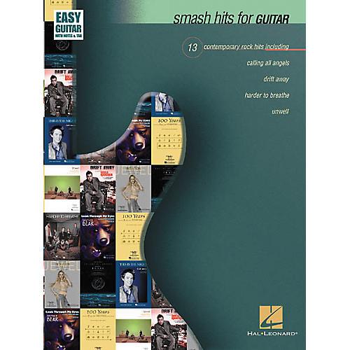 Hal Leonard Smash Hits for Guitar Tab Book