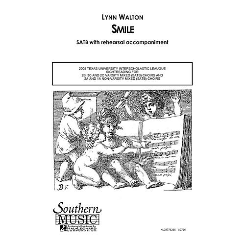 Hal Leonard Smile (Choral Music/Octavo Secular Satb) SATB Composed by Walton, Lynn