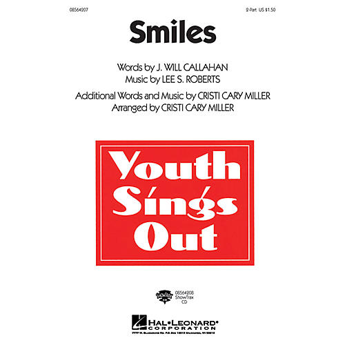 Hal Leonard Smiles ShowTrax CD Arranged by Cristi Cary Miller