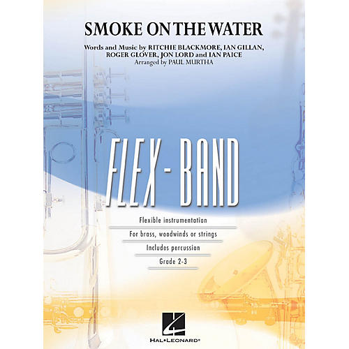 Hal Leonard Smoke on the Water Concert Band Level 2-3 Arranged by Paul Murtha