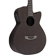 Open Box RainSong Smokey All-Carbon Stagepro Anthem Acoustic-Electric Guitar