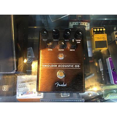 Fender Smolder Acoustic OD Effect Pedal