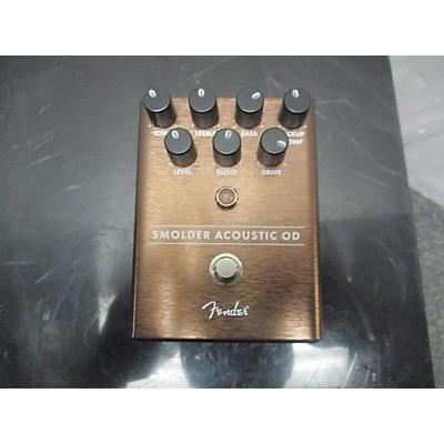 Fender Smolder Acoustic Overdrive Effect Pedal