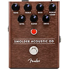 Open Box Fender Smolder Acoustic Overdrive Effects Pedal