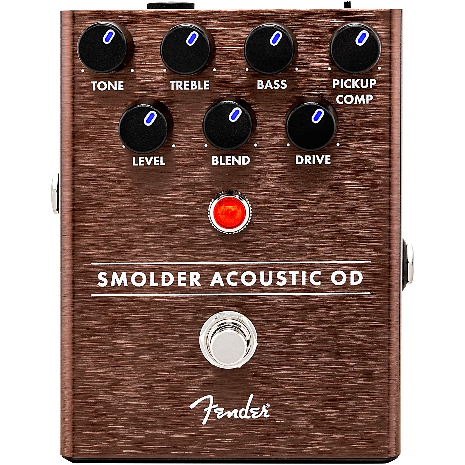 Fender Smolder Acoustic Overdrive Effects Pedal