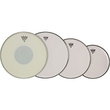 "Remo Smooth Emperor Drumhead ProPack 10"", 12"", 14"" with 14"" Emperor X Snare Head"