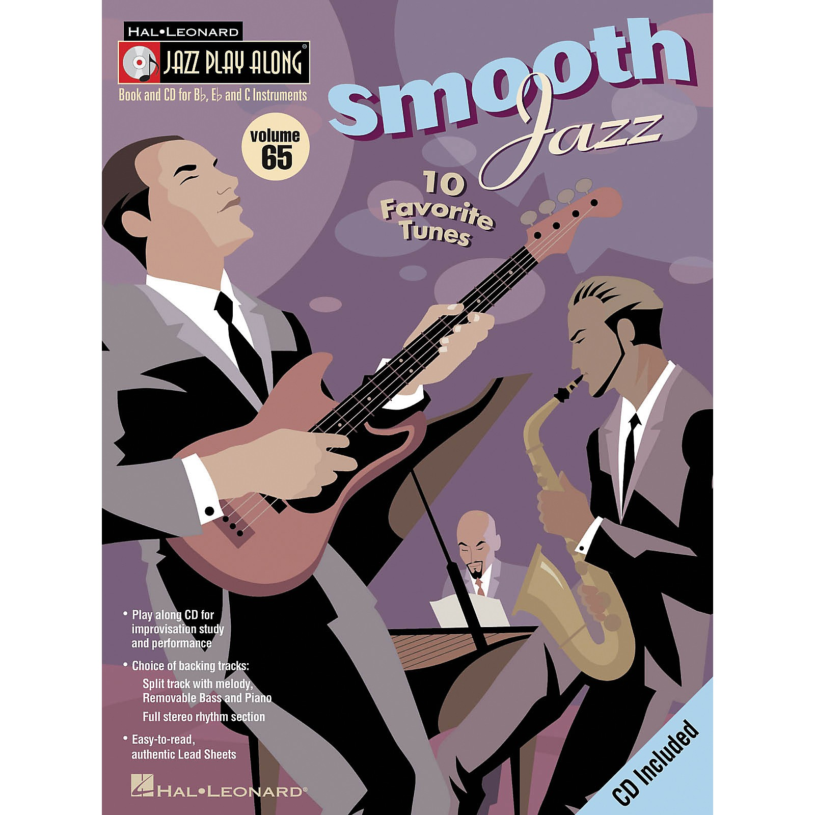 Hal Leonard Smooth Jazz - Jazz Play Along Volume 65 Book CD