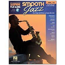 Hal Leonard Smooth Jazz Saxophone Play-Along Volume 12 Book/Audio Online