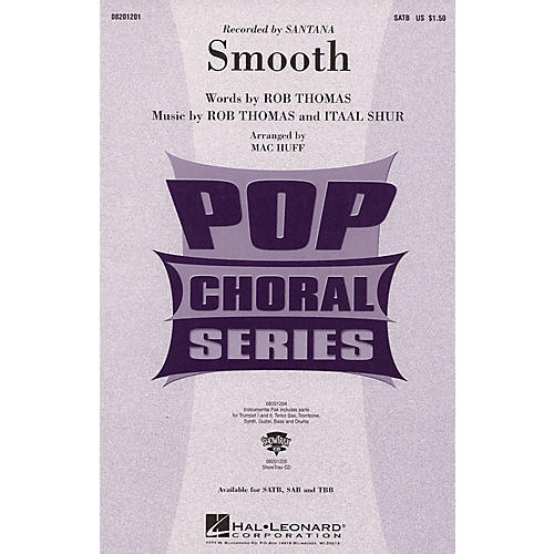 Hal Leonard Smooth ShowTrax CD by Santana Arranged by Mac Huff