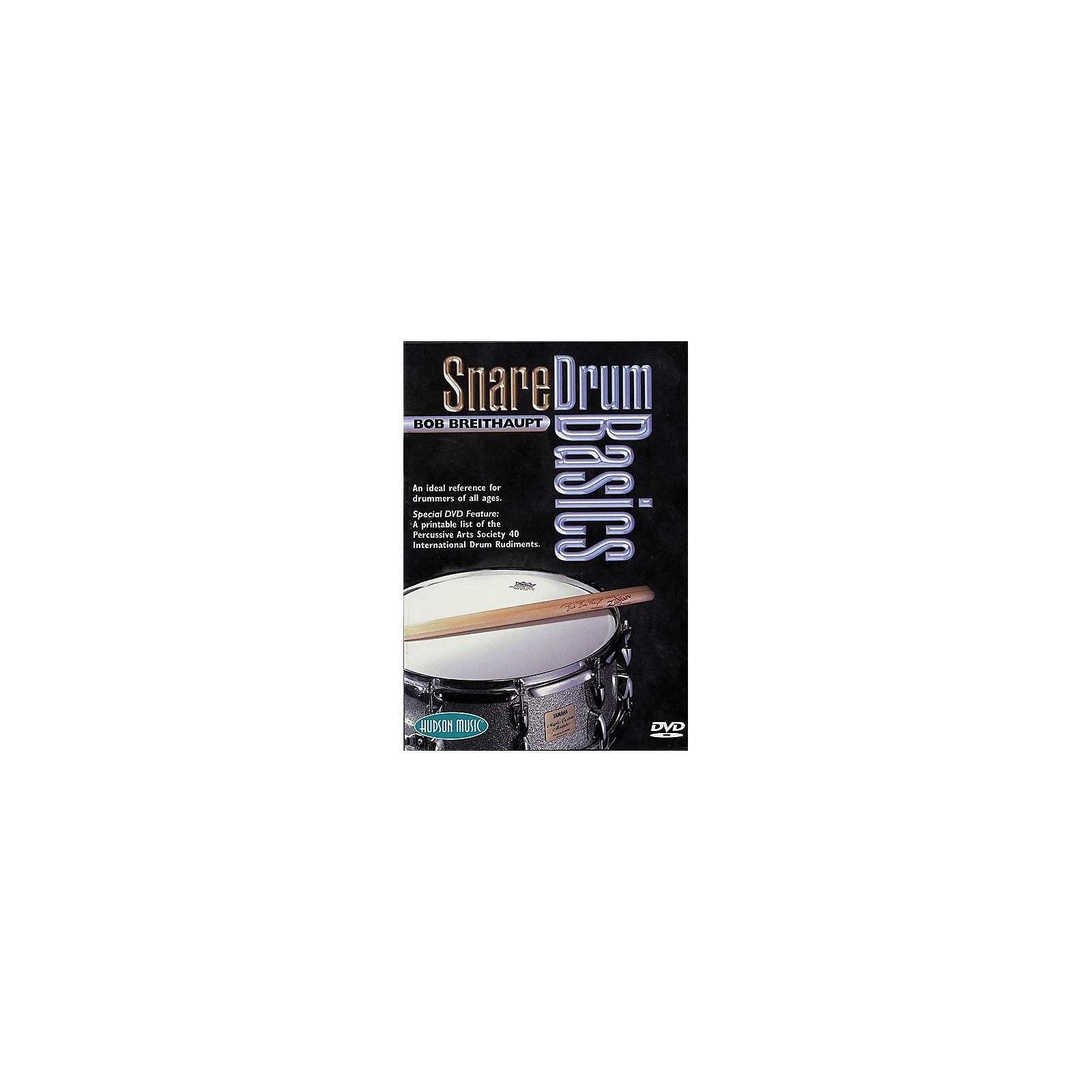 Hudson Music Snare Drum Basics (DVD)