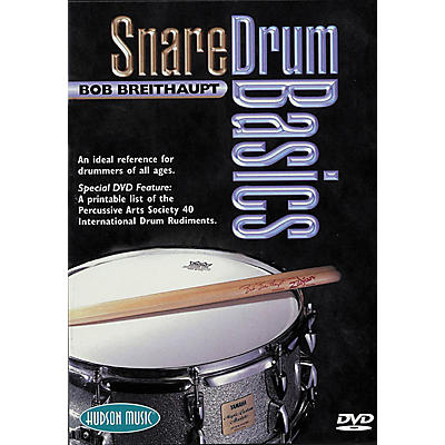 Hudson Music Snare Drum Basics (DVD)