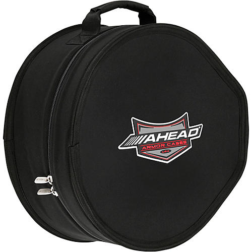 Ahead Snare Drum Case with Cutout for Snare Rail 14 x 6.5 in.