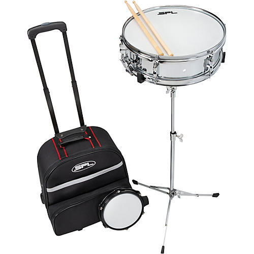 Sound Percussion Labs Snare Drum Kit with Rolling Bag 14 x 4 in.
