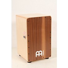 Open Box Meinl Snarecraft Series Professional Cajon with Walnut Frontplate