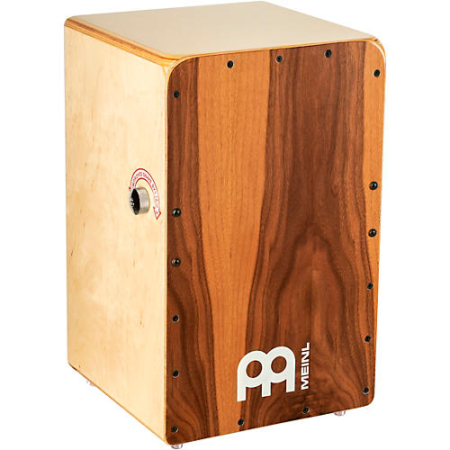 Meinl Snarecraft Series Professional Cajon with Walnut Frontplate