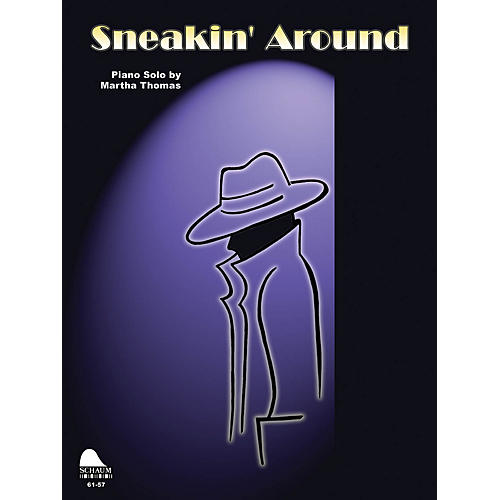 SCHAUM Sneakin' Around Educational Piano Series Softcover