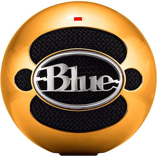 BLUE Snowball ICE Anniversary Gold