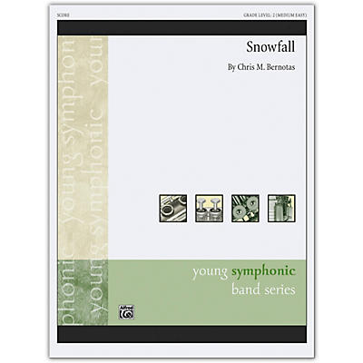 Alfred Snowfall Conductor Score 2 (Medium Easy)