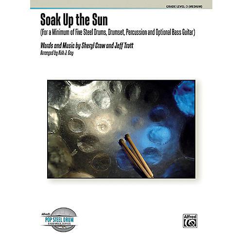 Alfred Soak Up the Sun Steel Drum Ensemble Score & Parts