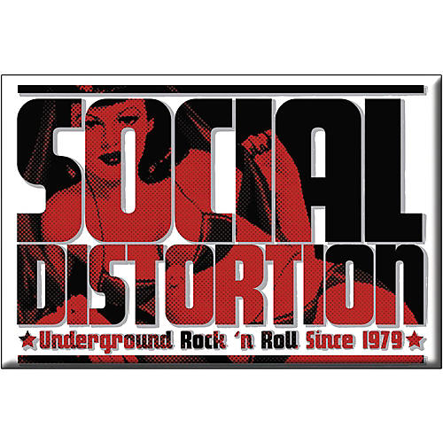C&D Visionary Social Distortion Logo Magnet