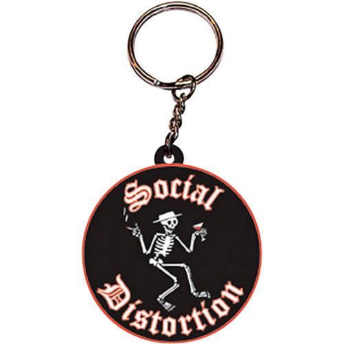 C&D Visionary Social Distortion Logo Rubber Key Chain