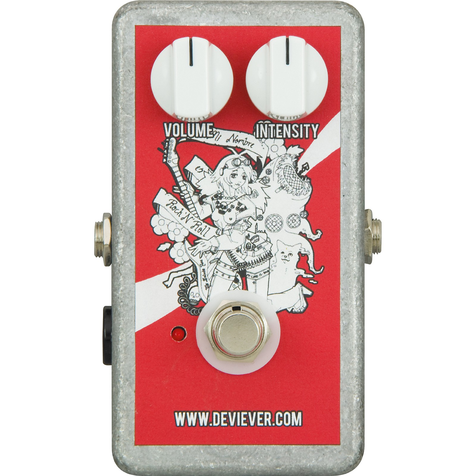 Devi Ever Soda Meiser Distortion Guitar Effects Pedal