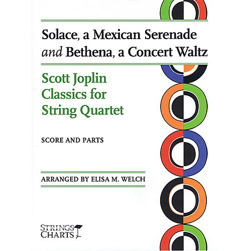 String Letter Publishing Solace, a Mexican Serenade and Bethena, a Concert Waltz String Series Softcover by Elisa M. Welch