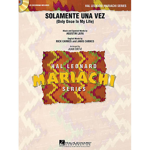 Hal Leonard Solamente Una Vez (Only Once in My Life) Concert Band Level 2 Arranged by Juan Ortiz