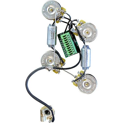 mojotone solderless les paul guitar wiring harness short shaft musician 39 s friend. Black Bedroom Furniture Sets. Home Design Ideas