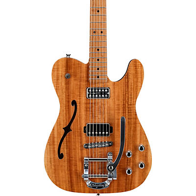 LsL Instruments Soledita DX Koa Top Semi-Hollow Electric Guitar with Bigsby