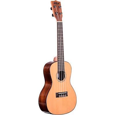 Kala Solid Cedar Top Acacia Concert Ukulele