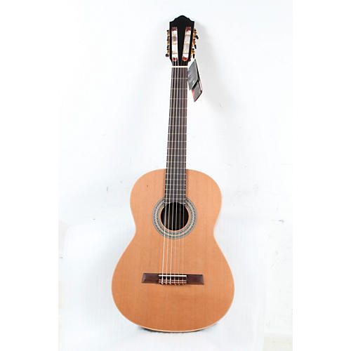 Hofner Solid Cedar Top Laurel Body Classical Acoustic Guitar Condition 3 - Scratch and Dent High Gloss Natural 190839926234