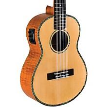 Open BoxLanikai Solid Spruce/Okume 8-String Tenor Acoustic-Electric Ukulele