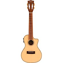 Kala Solid Spruce Top Koa Gloss Cutaway Acoustic-Electric Concert Ukulele