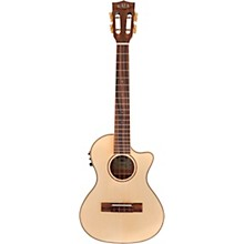 Kala Solid Spruce Top Koa Gloss Cutaway Acoustic-Electric Tenor Ukulele
