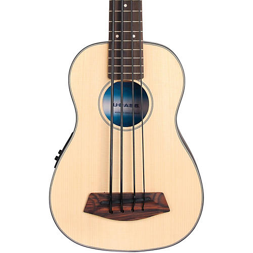 Kala Solid Top Acoustic-Electric U-Bass