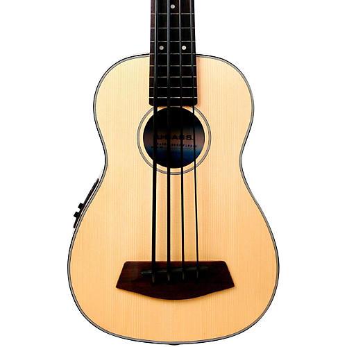 Solid Top Fretless Acoustic-Electric U-Bass