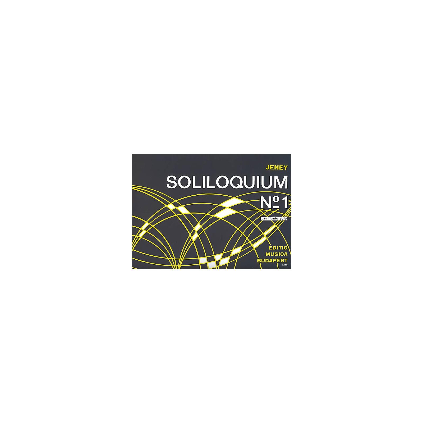 Editio Musica Budapest Soliloquium No. 1 EMB Series by Zoltán Jeney