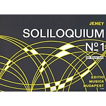 Editio Musica Budapest Soliloquium No. 1 EMB Series by Zoltán Jeney