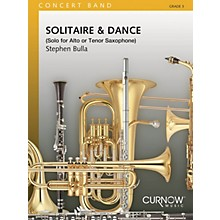 Curnow Music Solitaire and Dance (Grade 3 - Score Only) Concert Band Level 3 Composed by Stephen Bulla